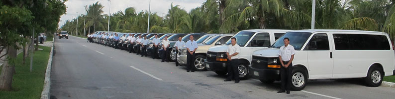Cancun Airport Transfers, special discounts to groups, weddings, conventions and more.