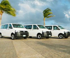 Transportation between hotels in Cancun